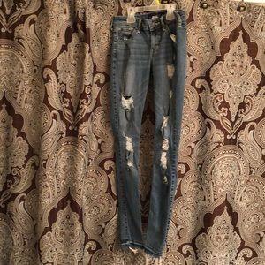 Hollister super skinny jeans size 3 waist 26